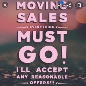 MOVING SOON EVERYTHING MUST GO.
